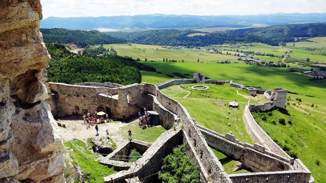 Leto na Spišskom hrade